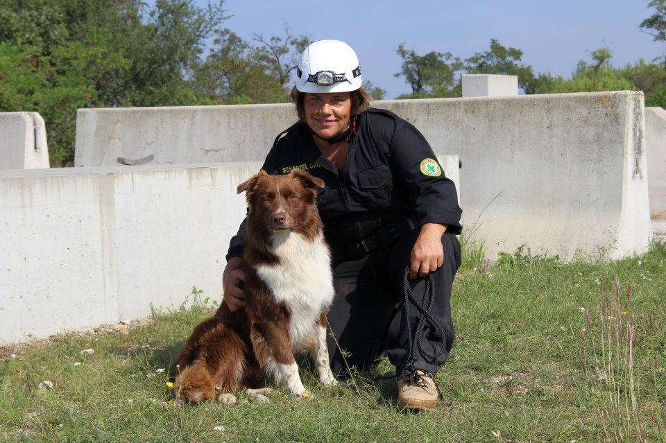 Fly & Christa - Rettungshund Austria